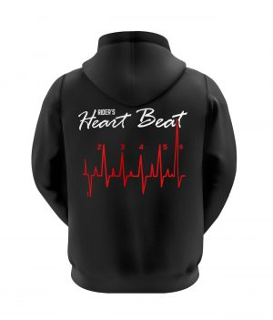 Riders Heart Beat Kapüşonlu Sweatshirt (Hoodie)
