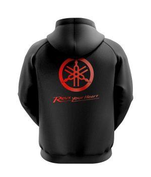 Yamaha Racing Kapoşünlu Sweatshirt (Hoodie)