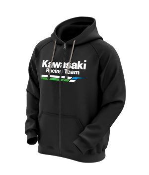 Kawasaki Racing Team Kapüşonlu Sweatshirt (Hoodie)