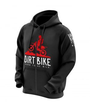 Dirt Bike Born To Be Wild Kapüşonlu Sweatshirt (Hoodie)
