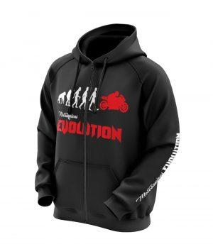 Motosapiens Evolution Kapüşonlu Sweatshirt (Hoodie)