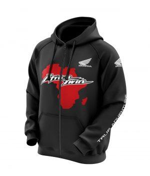 Honda Africa Twin Kapüşonlu Sweatshirt (Hoodie)