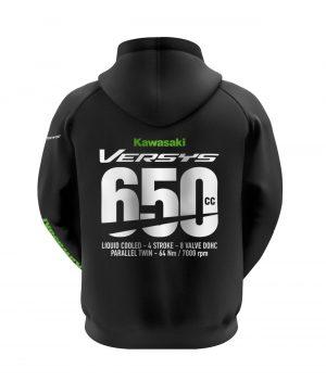Kawasaki Versys 650 Kapüşonlu Sweatshirt (Hoodie)