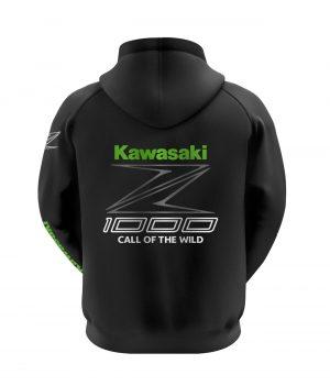 Kawasaki Z1000 Kapüşonlu Sweatshirt (Hoodie)